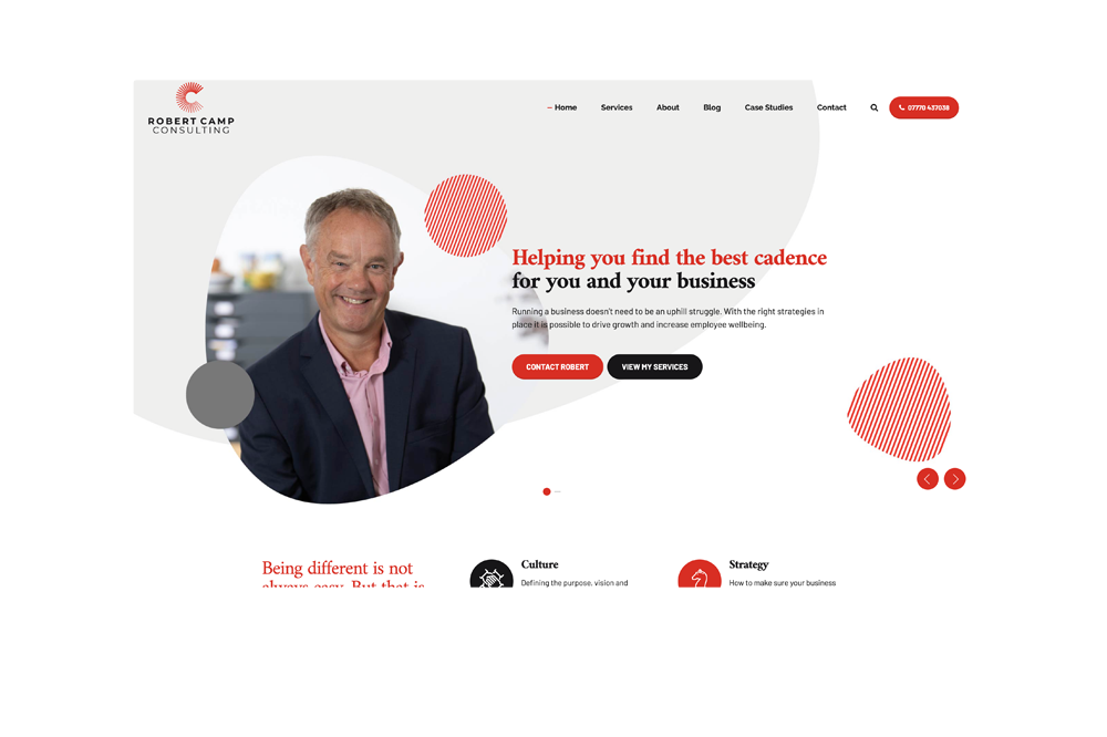 Case Study - Robert Camp Consulting